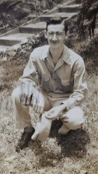 Dad, Quarry Heights, Panama 1942